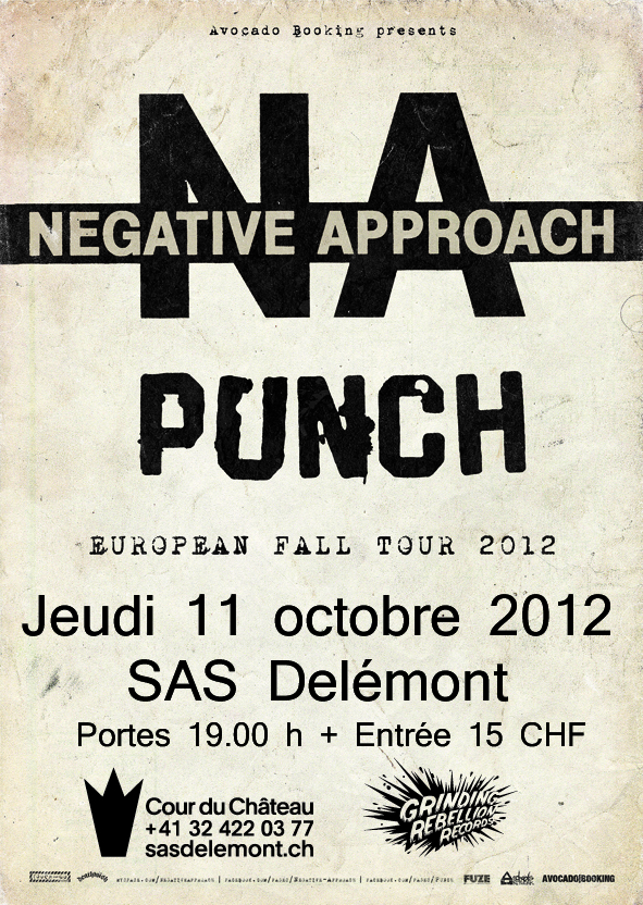 Negative Approach @ Delémont (JU)